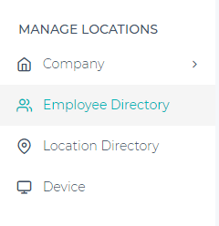 Add Employee- app screen shot