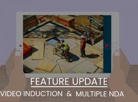 Video-Based Visitor Induction & Multiple Agreements- Feature Update