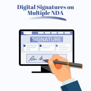 Digital Signature on an agreement
