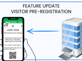 Visitor Pre-Registration -New Feature Update in CoReceptionist App