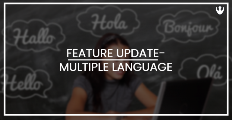 Multiple-Language Support- Feature Update in CoReceptionist App